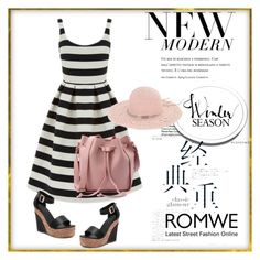 """Romwe 2/III"" by nermina-okanovic ❤ liked on Polyvore featuring Warehouse, BCBGeneration and romwe"