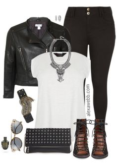 This plus size biker jacket outfit is simple enough that you likely already have most of the pieces in your closet. But, it is anything but basic. A little edgy, a little boho, and totally on trend. This amazing bib necklace makes me think of one of my favorite jewelry designers, Dylanlex, with a better… ReadMore