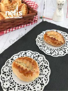 Kıyır Poğaça - Nefis Yemek Tarifleri - #4425579 Hamburger, Pie, Bread, Desserts, Food, Model, Recipes, Torte, Tailgate Desserts