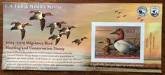 2014-2015 US Fish & Wildlife Service Migratory Bird Hunting & Conservation Stamp