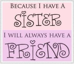 But who are my true sisters..... those who do the will of My Father!! HALLELUJAH