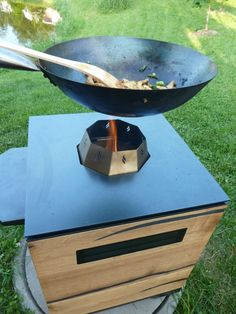 Pelmondo Fire Cube, Outdoor Kitchen