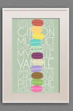 Millions-des-Macarons---11x17'-Poster-Print