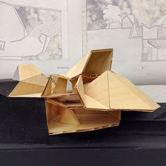 Architecture Origami, Architecture Design, Architecture Models, Roof Shapes, Jungle House, Shelter Design, Arch Model, Inspiration, Facades
