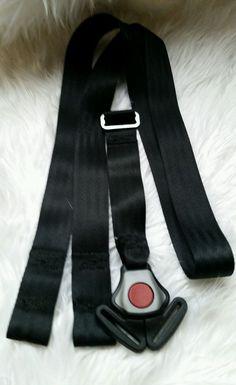 Baby Trend Flex Loc Infant Baby Car Seat Harness Strap Crotch Buckle Black m ca #BabyTrend