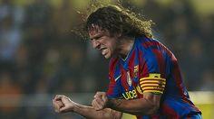 @Puyol #9ine Barcelona Fc Logo, Soccer, Hero, Couple Photos, Sports, Idol, Club, Football Pics, Legends