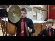Watch what this kid does when his cymbal breaks
