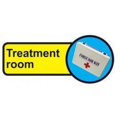 Treatment Room Dementia Information Sign