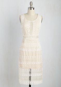 My Luxe-y Day Dress in Ivory | NWT | Small |
