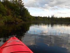 kayaking Hurley, WI