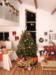 Christmas in Miniature and oh what a wonderful Christmas it is! How lovely and wonderfully detailed, thank you to all of those who take the time and love to do this type of thing with mini's.