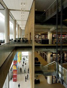 Gallery - Grand Library of Québec / Patkau Architects + Croft Pelletier + Menkès Shooner Dagenais architectes associés - 25