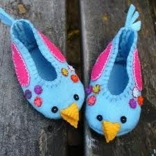 felt baby shoes - Google Search