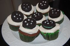 tire cupcakes - make these (only cuter)