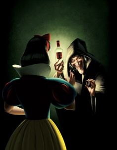 This pic just reminded me of most of my friends...(I'm the Evil Queen, of course!)