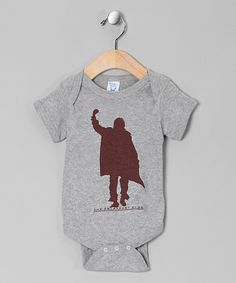 Take a look at this Gray 'The Breakfast Club' Bodysuit - Infant on zulily today!