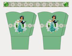 Jasmine Free Printable Basket.