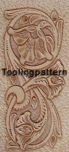 Leather-Tooling-Carving-patterns-Leathercraft-pattern-Sheridan-Western-Style
