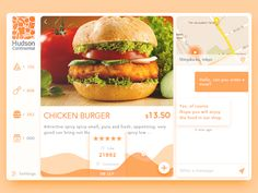 Fast Food booking by X童