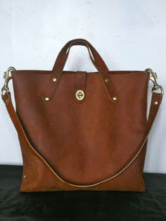 Sumptuous leather bag! $280