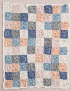 Crochet throw by Patons Australia