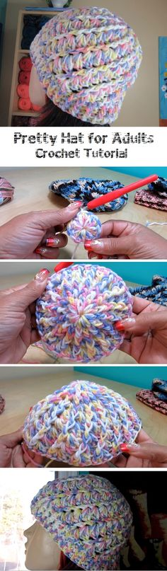 Get the Tutorial for this Pretty Hat