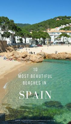 With one of the longest coastlines in Europe, it's no wonder Spain and beaches go hand in hand. Here are 10 of the best beaches: there's something here for everyone, from volcanic black sand beaches in the Canary Islands to the translucent water and soft sands of the Balearics to the wilder shores of Galicia. Read the post at https://www.themediterraneantraveller.com/beautiful-beaches-spain/ #spain #beach #europe