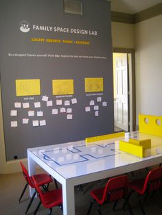 The PMA's Family Space, located in the 19th century McLellan House, is currently home to the Design Lab. The interactive design lab is based on an architectural exhibit in the museum and allows children to become designers and creators of the buildings of tomorrow!