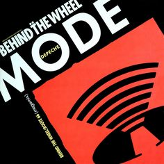 "Depeche Mode - ""Behind the Wheel / Route 66"", 1988 record"