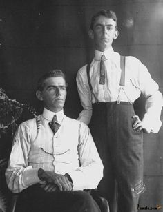 Picture of / about 'Queensland' Queensland - Two men photographed in studio style, 1890-1900