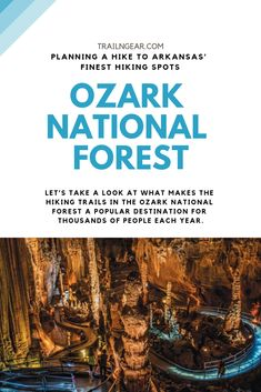 Do you love hiking because of the and that you encounter? Then you will find the Ozark national forest a spectacular place to hike. The amount and variety of wildlife you could encounter in the Ozark mountains are astounding. Hiking Spots, Hiking Trails, Arkansas Waterfalls, Arkansas Vacations, Ozark National Forest, Hiking Photography, Forest Trail, Ozark Trail, Colorado Hiking