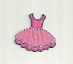 Ballerina Tutu Patch by WondersofWorlds on Etsy, $3.99