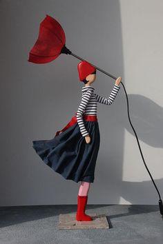 Skitso Girls Nicoleta Lampa - 85 cm Handmade Lamps, Best Sellers, Ballet Skirt, Girls, Pants, Fashion, Toddler Girls, Trouser Pants, Moda