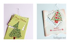 recycle old Christmas cards - NoBiggie.net
