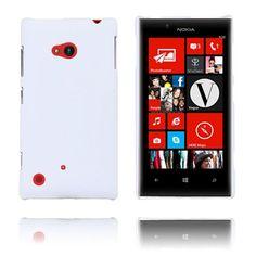 Hard Shell (Hvit) Nokia Lumia 720 Etui