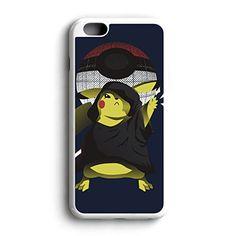 Pokemon Pikachu Darth Pika Am Fit For iPhone 6 Hardplastic Back Protector Framed White FR23 http://www.amazon.com/dp/B016ZQBA3I/ref=cm_sw_r_pi_dp_qYyowb1H1J8YN