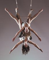 Aerial Trapeze from H2oh Circus and Variety