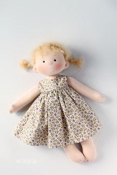 Купить или заказать Татошка, игровая текстильная кукла в интернет магазине на Ярмарке Мастеров. С доставкой по России и СНГ. Материалы: хлопок, хлопковый трикотаж, пряжа,…. Размер: 35 см