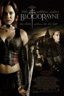 BloodRayne ~ In the Eighteenth Century, Rayne is the half-human half-vampire Dhampir and the lead attraction in a carnival's freak-show in Romania. When she escapes, she meets a fortuneteller that tells...