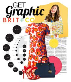 """Get Graphic"" by sportsonista ❤ liked on Polyvore featuring INC International Concepts, BRIT*, Jil Sander Navy, Schutz, contestentry and getgraphicwithbritco"