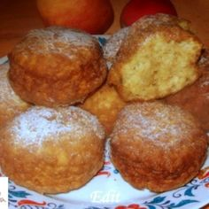 Egyszerű almafánk   Nosalty Hungarian Recipes, Something Sweet, Muffin, Breakfast, Foods, Morning Coffee, Food Food, Food Items, Muffins