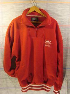 Persevering Vtg Chaps Ralph Lauren Men L Green Pullover Jacket Hooded Rain Coat Front Pocket Buy One Give One Coats & Jackets