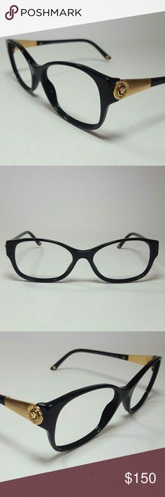 Versace Eyeglasses New and authentic  Versace Eyeglasses  Black frame  NO DEMO LENSES  Size 54-17-135 Original case included Versace  Accessories Glasses