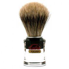 Semogue 730 silvetip high density badger hair shaving brush, with handle made of acrylic. Shaving Brush, Wet Shaving, Straight Razor, Men's Grooming, Badger, Barber Shop, Brushes, Handsome, Hair