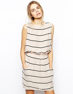 Selected Endora Dress in Striped Jersey http://www.asos.com/pgeproduct.aspx?iid=3934003 perfect dress to go shopping in <3