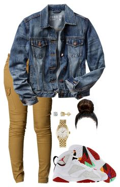 """""""Hare 7s"""" by raeeindihbih ❤ liked on Polyvore featuring Retrò, Gap and Rolex"""