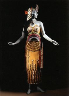 Sonia Delaunay,Costume for the Choreographic Drama in One Act, Cleopatra, 1918