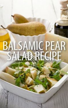 Chef Lorraine Pascale made a delicious Balsamic Pear Salad with Pancetta, Gorgonzola, and a honey dressing, and discussed her new cookbook on Today Show. Chef Recipes, Kitchen Recipes, Soup Recipes, Salad Recipes, Vegetarian Recipes, Cooking Recipes, Healthy Recipes, Luncheon Recipes, Pear Salad