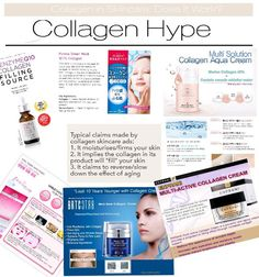 Collagen in Skincare Products and Supplements: Do they really work? What the science says about collagen, and how collagen really works in your skin.
