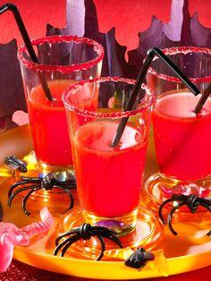 Blutige Drinks zu Halloween